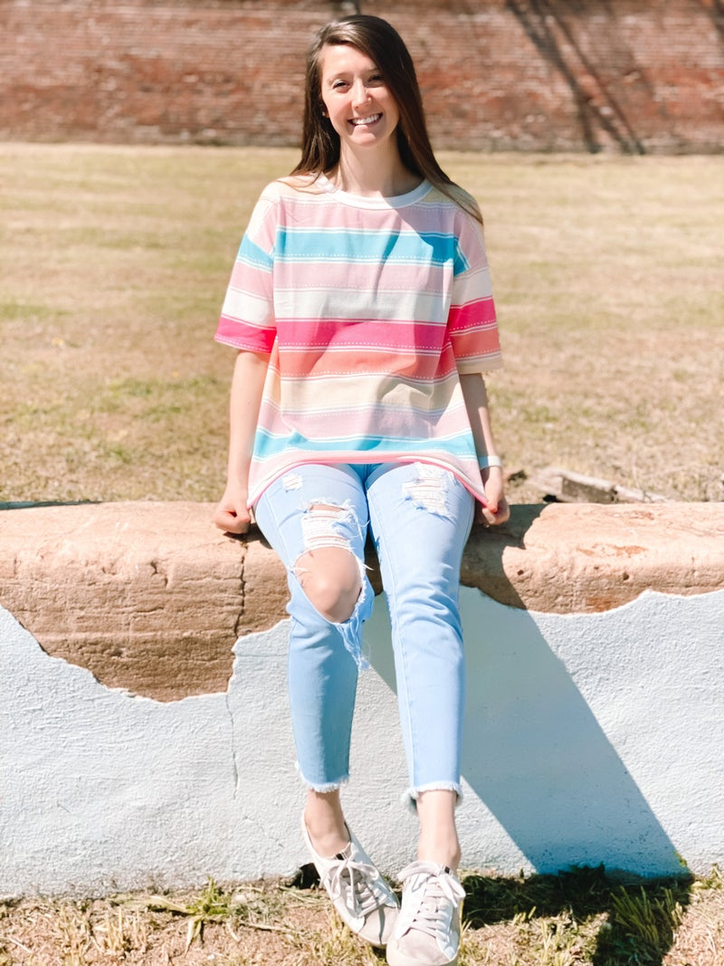 Colors Of Spring Top