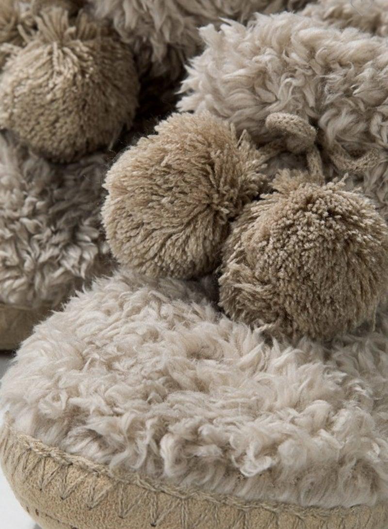 Fuzzy Feet Slippers *Final Sale*