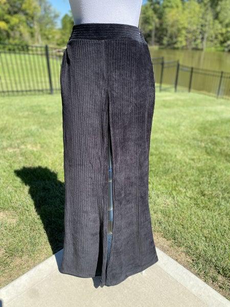*Black Velvet Pants - S*