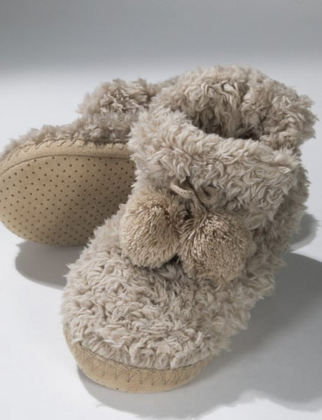 Fuzzy Feet Slippers