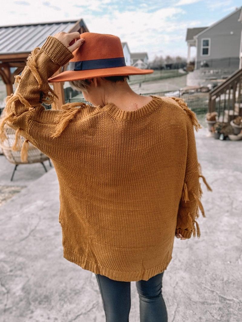 Tasseled Cutie Sweater