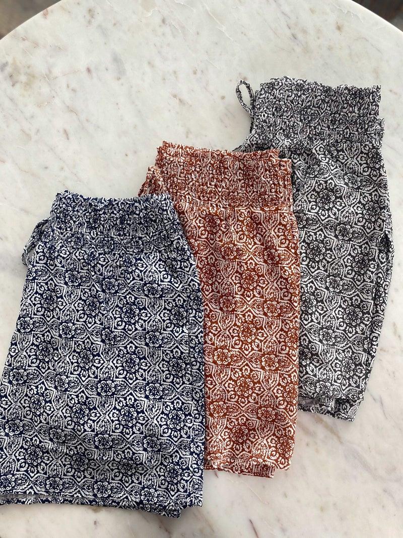 Pleasant Pattern Shorts