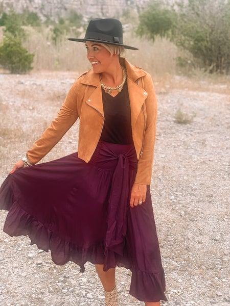 Pretty as a Plum Skirt