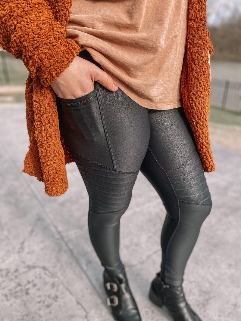 It Girl Moto Legging *Final Sale*