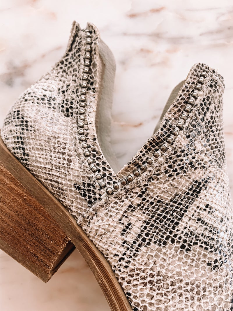 Slither Away Bootie *Final Sale*