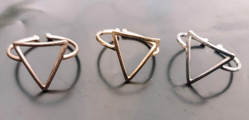 Triangle Cuteness Ring