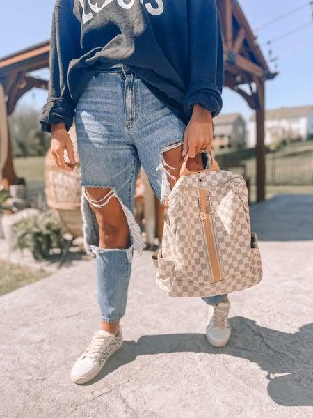 Woman of Influence Zipper Backpack