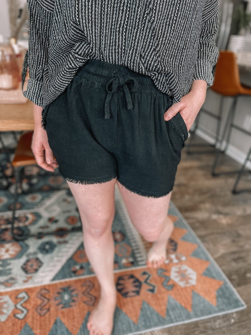 Frayed Edges Shorts