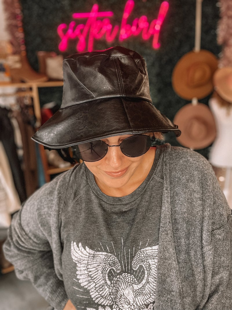 Chic and Sleek Bucket Hat