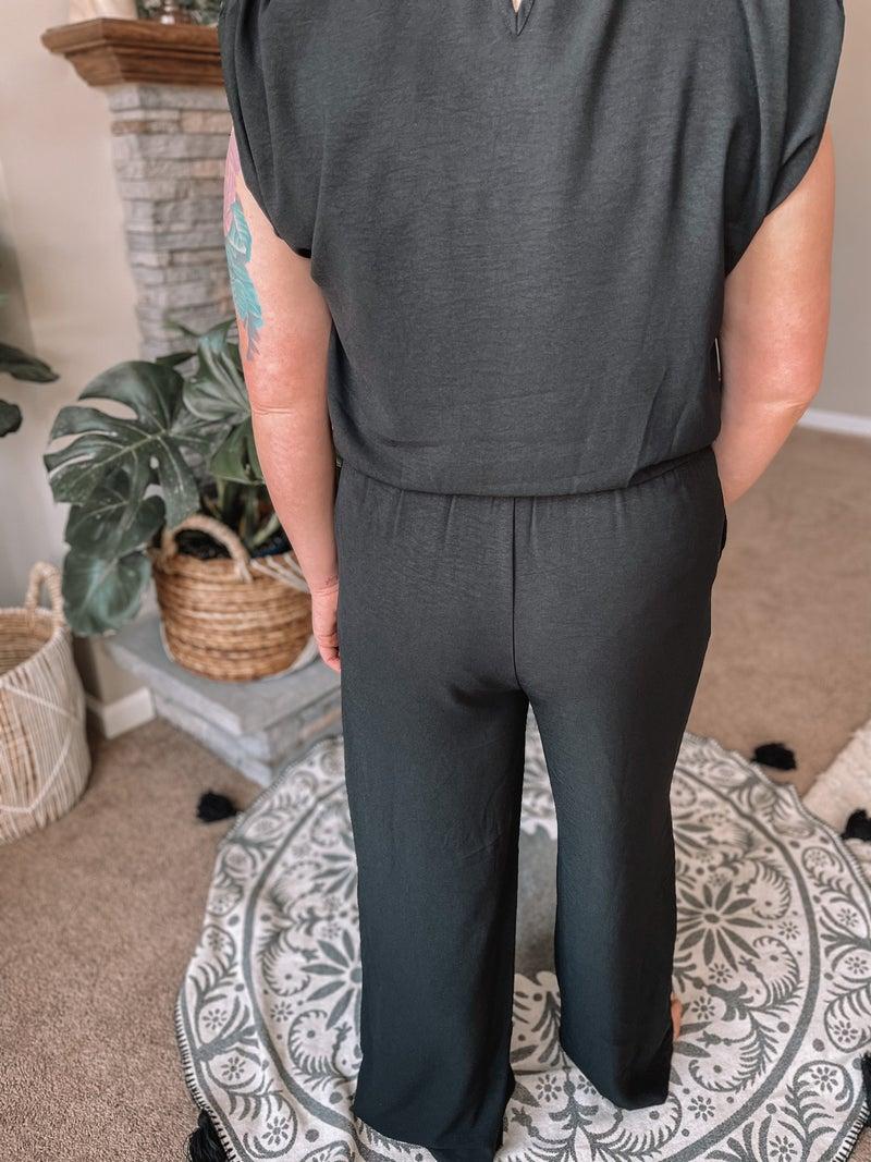 Little Black Jumpsuit