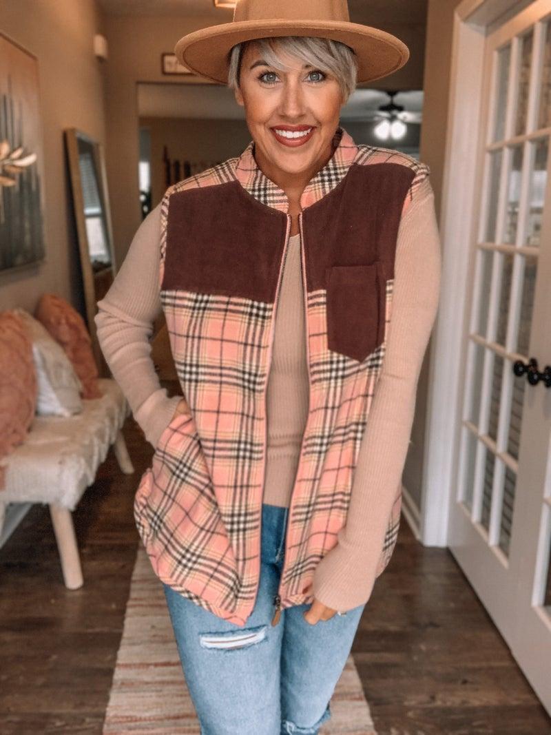 Fashionista Fleece Vest