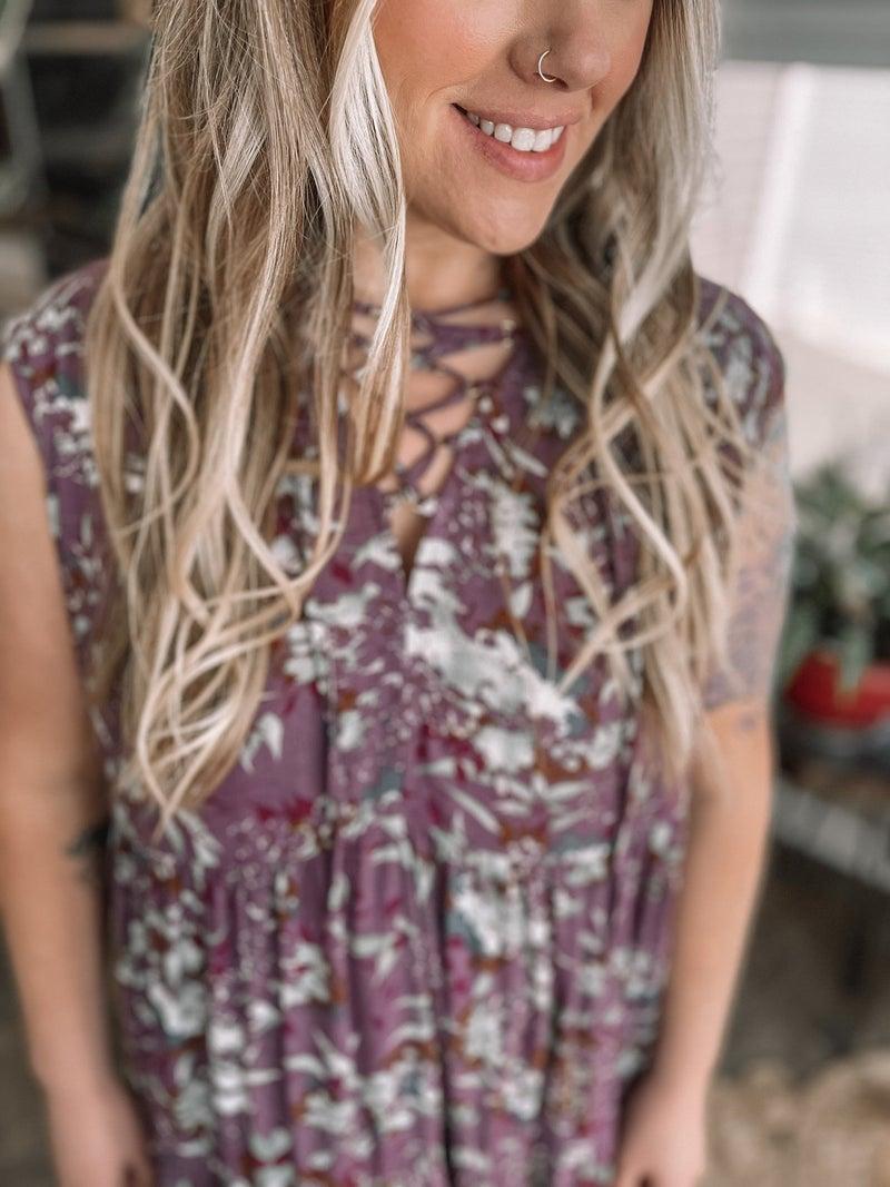 Purple Rain Dress *Final Sale*