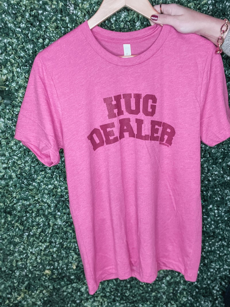 Raspberry Hug Dealer Tee