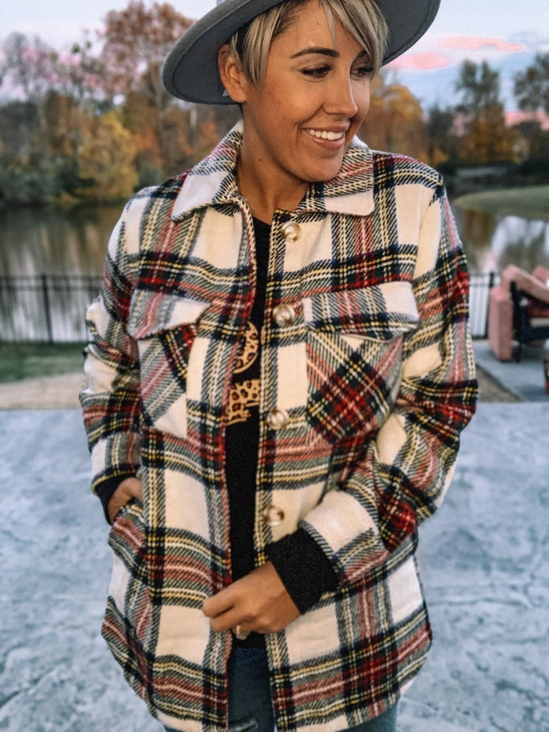 Mad for Plaid Shacket