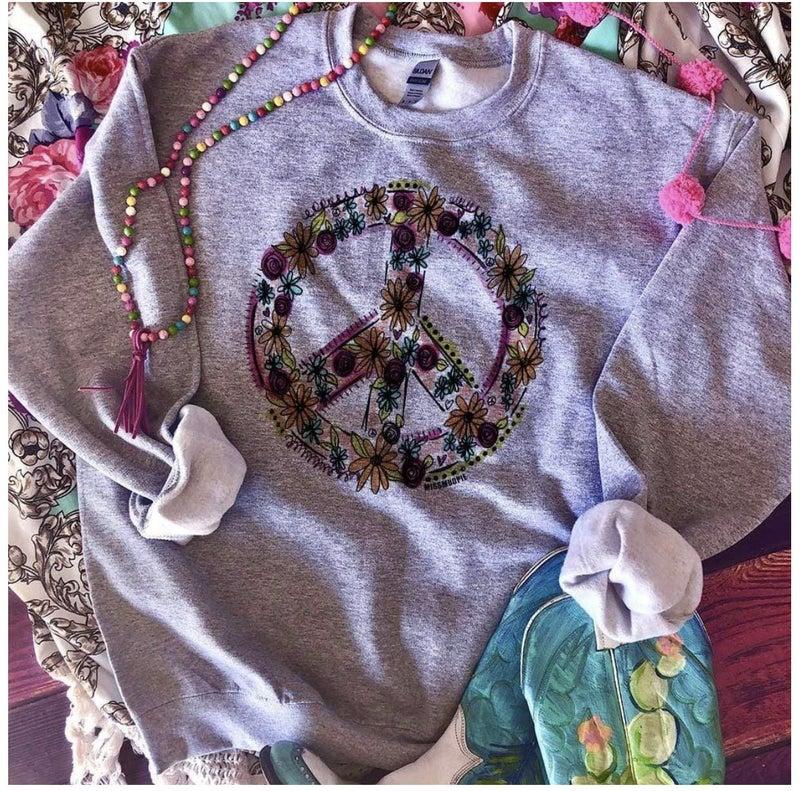 Peace Please Sweatshirt