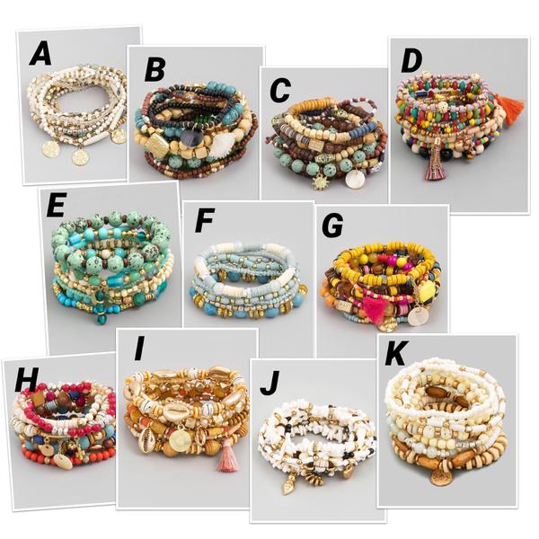 More Is More Bracelet Stacks