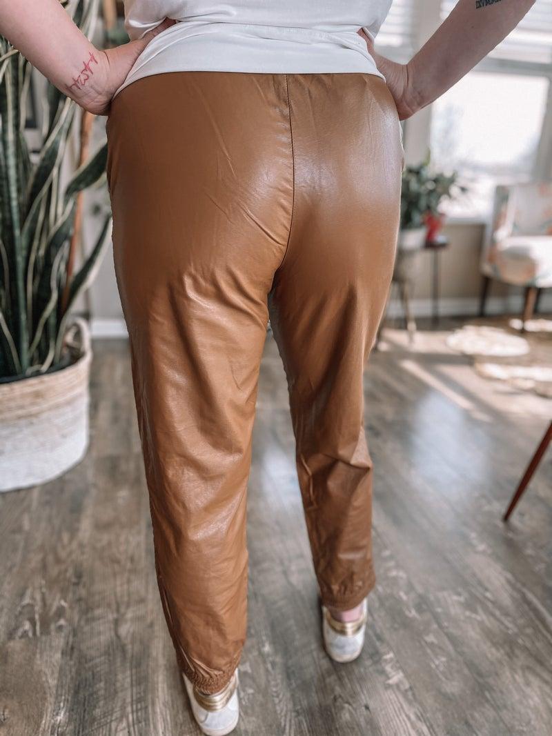 Camel Chic Jogger *Final Sale*