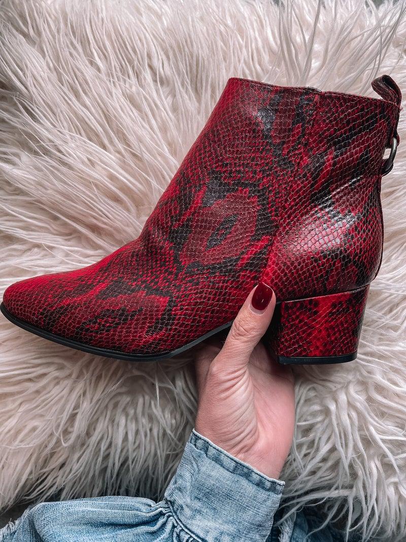 Slither Me Sassy Snake Boots