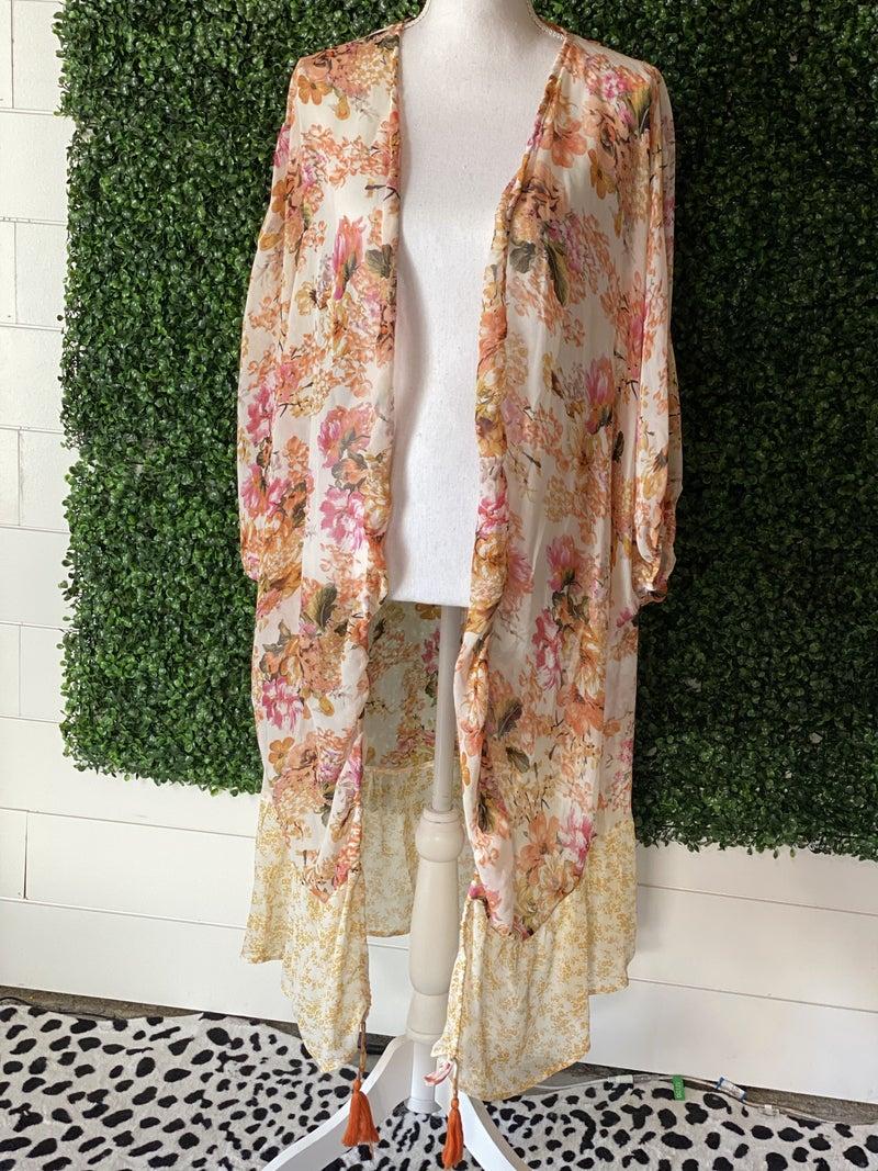 *Floral Kimono- S*