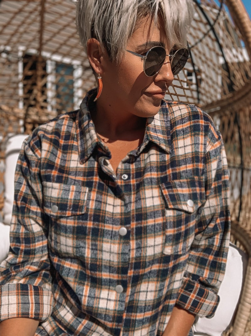 Cabin Vibes Flannel