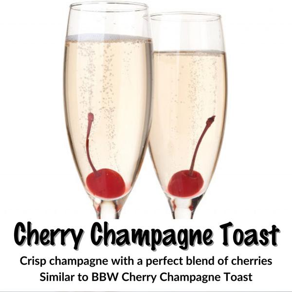 Cherry Champagne Toast