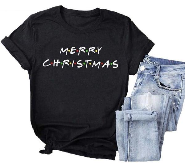 Friends Merry Christmas T-Shirt