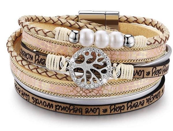 Boho stackable bracelet