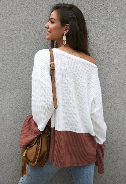 Waffle Style Sweater