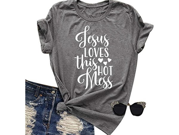 Jesus Loves This Hot Mess