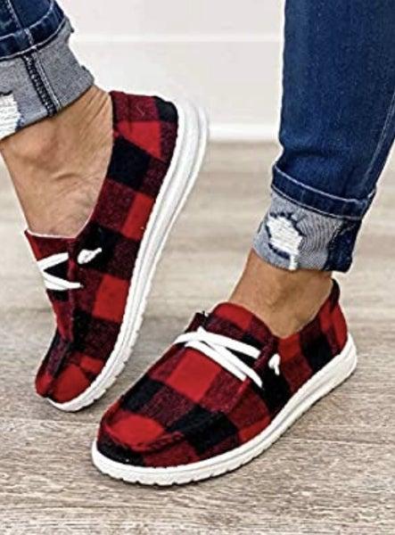 Buffalo Plaid Shoes