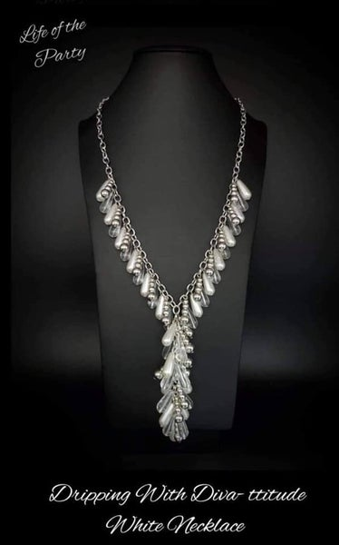 Dripping with Diva-ttitude - April 2021 Life of the Party Necklace & Earrings