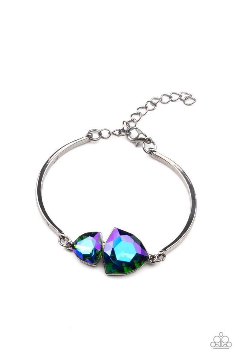 Cosmic Real Estate & Deep Space Shimmer - Necklace, Earrings & Bracelet Set