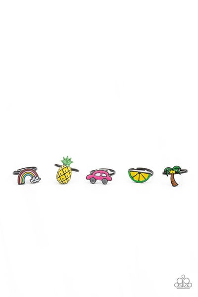 Pre-Order Assorted Summer-themed Color & Shaped Earrings for Kids or the Kid at Heart