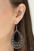 Love To Be Loved - Green Earrings