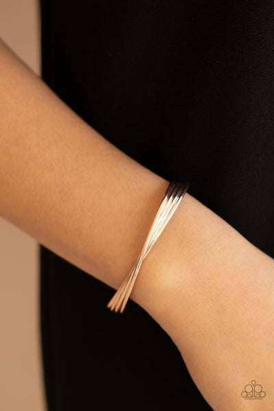 Bringing Basics Back - Rose Gold Cuff Bracelet