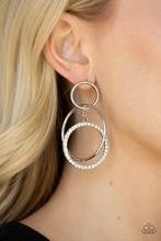 Metro Bliss - White Post Earrings