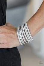Rock Star Attitude - Silver Bracelet