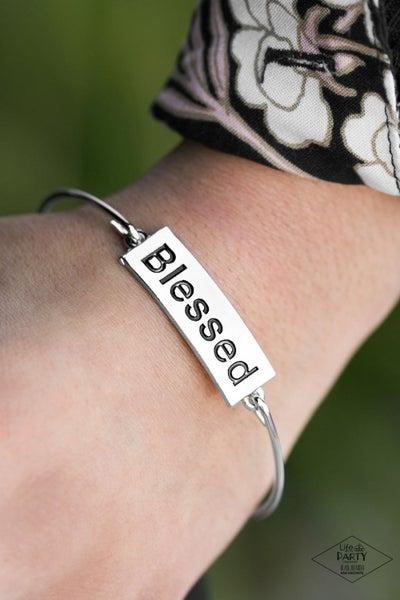 Blessed - Silver Bracelet