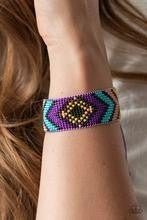 Desert Dive - Purple Bracelet