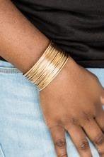 Wire Warrior - Gold Bracelet