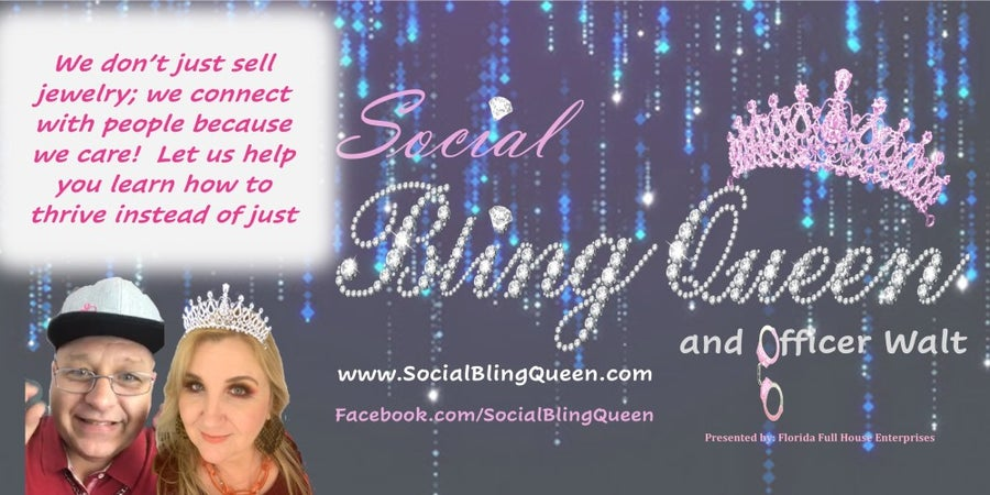 Social Bling Queen & Officer Walt
