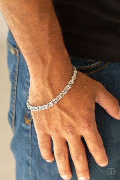 Pre-Order Fighting Chance - Silver Chain Link Men's Bracelet