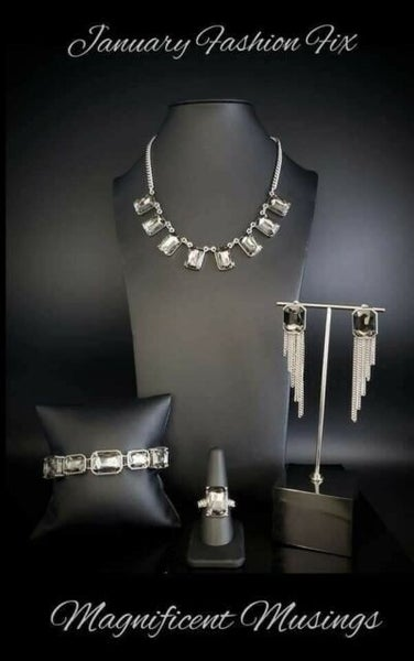 Magnificent Musings - Complete Trend Blend - Silver & Silver Rhinestones - January 2021