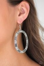 Rhinestone Rebel - White  Earrings