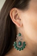 Paradise Parlor - Green Earrings