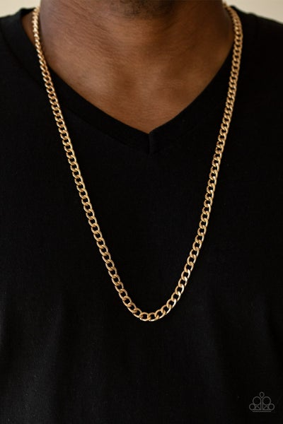 Delta - Gold Crub Chain (No Earrings included)