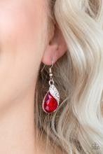 Easy Elegance - Red Earrings