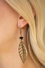BOUGH Out - Brass Earrings