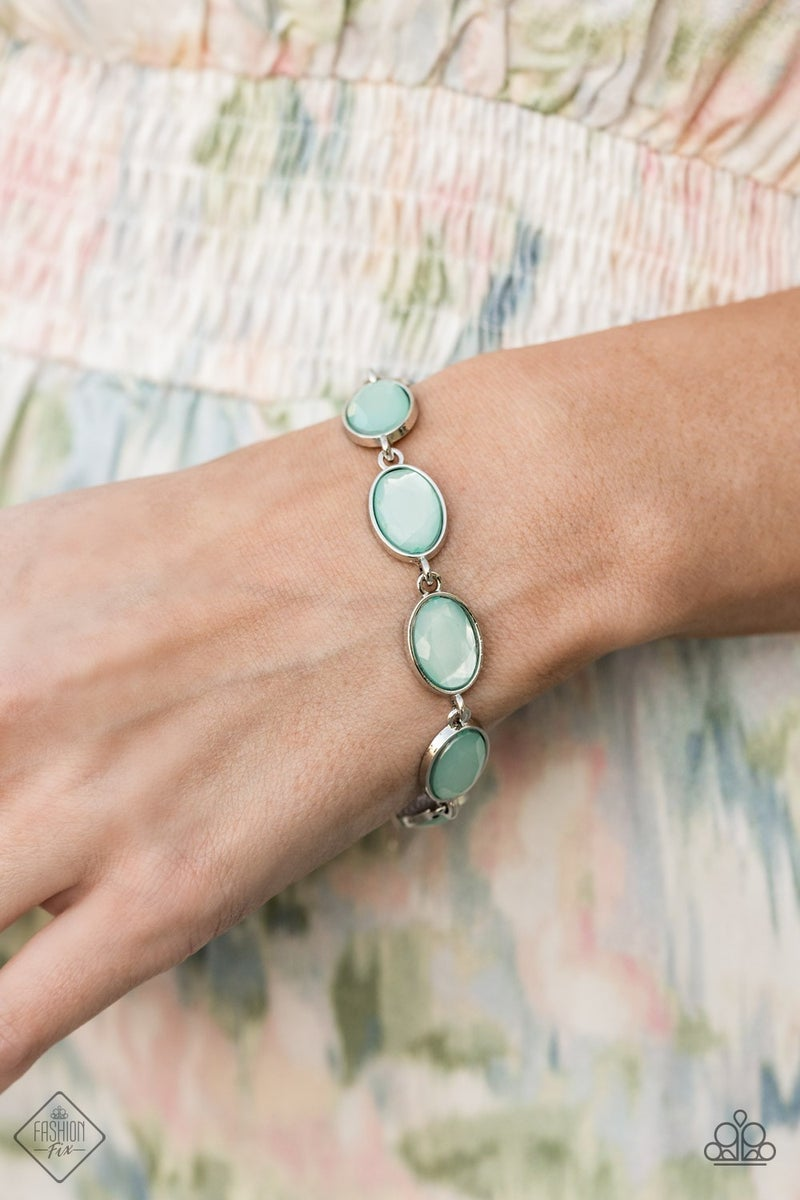 Pre-Order Smooth Move  - Silver with Blue Moonstone Bracelet