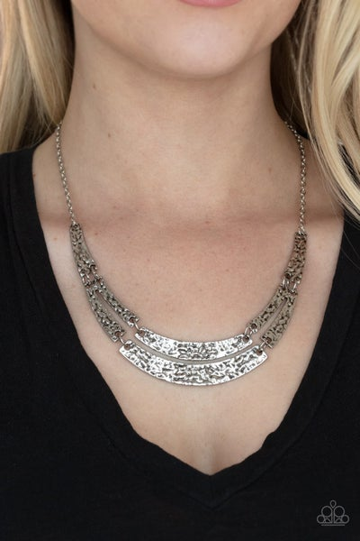 Pre-Order Stick To The ARTIFACTS - Textured Silver Necklace & Earrings